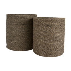 Cylinder Basket - Set of 2