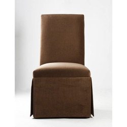 Tuxedo Brown Chair