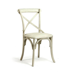 Parisienne Cafe Chair - French Antique Off White