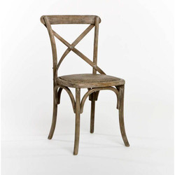 Parisienne Cafe Chair - Limed Grey Oak