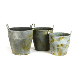 Metal Basket, Set Of 3 - Regular