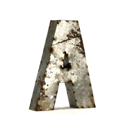 Small Metal Letters