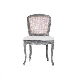 Annette Chair - Distressed Blue