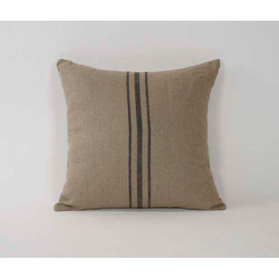 Middle Blue Strip Pillow