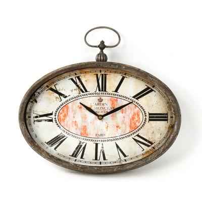 Paris Oval Clock