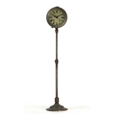 Tall Iron Clock