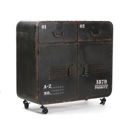 Anton Iron Cabinet
