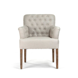 Barrois Tufted Arm Chair