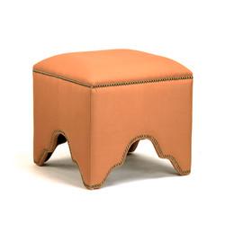 Willem Cubic Stool - Orange