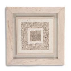 Abstract Paper Framed Art V