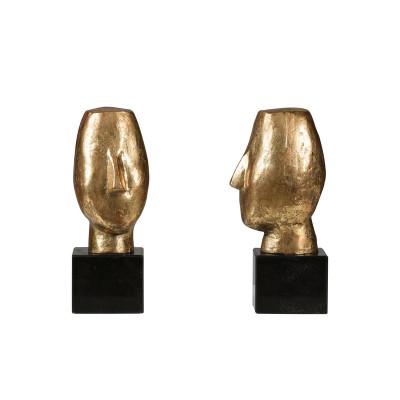 Alberto Statue (Pair), Gold