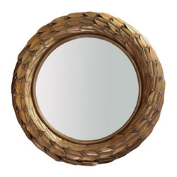 Athena Mirror, Gold