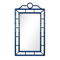 Chloe Mirror, Blue