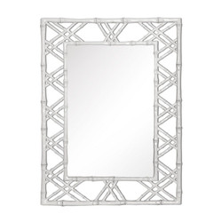 Claire Mirror, White