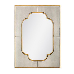 Cassia Mirror, Antique Mirror