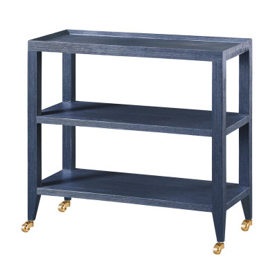 Isadora Console Table, Blue