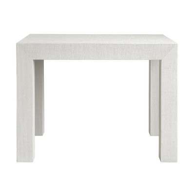 Parsons Side Table, White