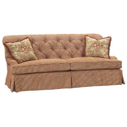 Eduardo Falls Tufted 2-Cushion Sofa