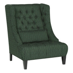 Perry Tufted Wing Chair