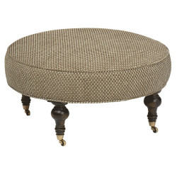 "Chisolm Large 35"" Round Ottoman"