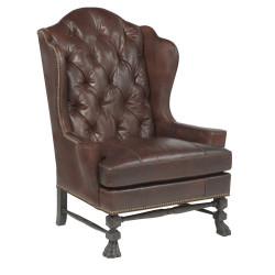 McCorkle Tufted Wing Chair