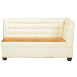 Bova Corner Banquette - Left Arm Facing