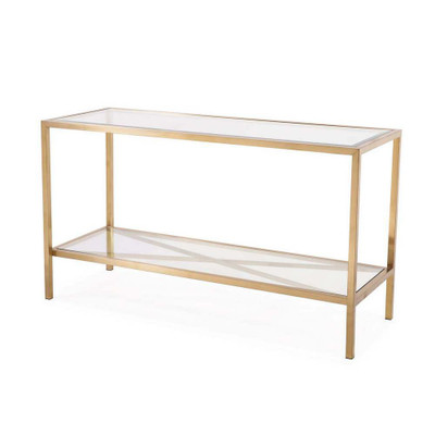 Gardner Console Table - Antique Gold