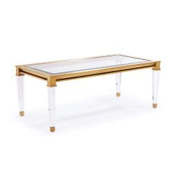 Presley Cocktail Table - Antique Gold