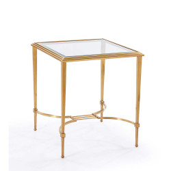 Sophia Side Table - Antique Gold
