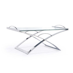 Marilyn Cocktail Table - Silver