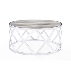 Tribeca Cocktail Table - White