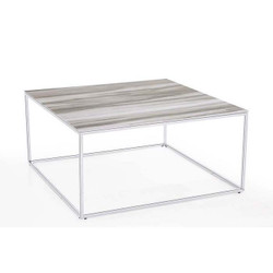 Midtown Cocktail Table - White