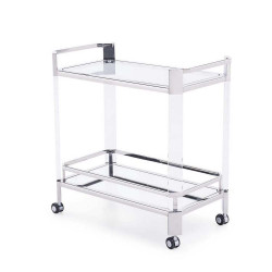 Newport Bar Trolley - Silver