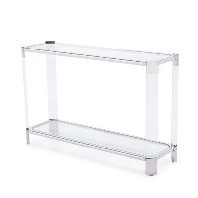 Lancaster Console Table - Silver