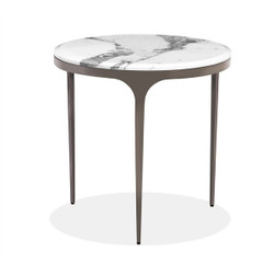 Camilla Side Table - Arabescato