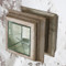Savannah Antique Mirror And Champagne Silver Leaf One Door Side Table Cabinet image 2