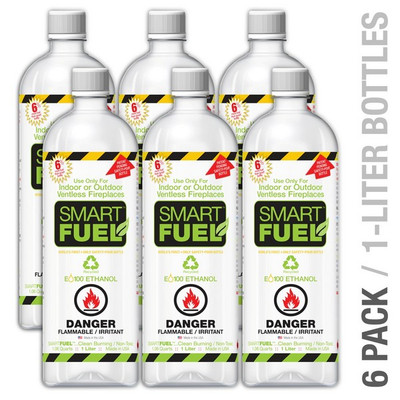 Anywhere Fireplace Liquid Bio-Ethanol Fuel for Fireplaces