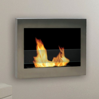 Anywhere Fireplace SoHo Fireplace- Stainless Steel