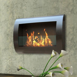 Anywhere Fireplace Chelsea Fireplace- Black