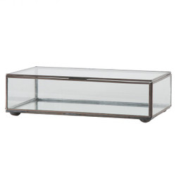 Medium Rectangular Box With Clear Glass