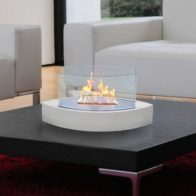 Anywhere Fireplace Lexington Fireplace- White