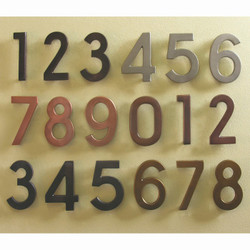 Unique House Numbers Letters Interior Homescapes