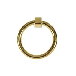 Lucas Circular Pull In Brass