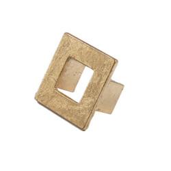 Hudson Square Hardware In Gold Leaf