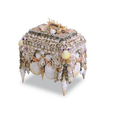 Boardwalk Shell Jewelry Box