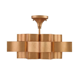 Grand Lotus Pendant & Semi-Flush Mount