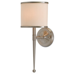 Primo Wall Sconce W/ Cream Shade