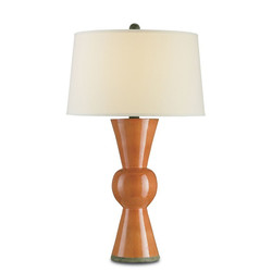 Upbeat Table Lamp - Orange
