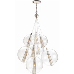 Caviar Adjustable Large Cluster - Polished Nickel