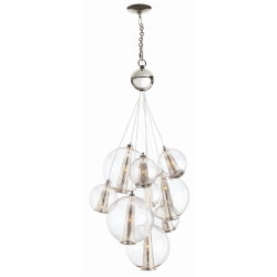 Caviar Adjustable Medium Cluster - Polished Nickel